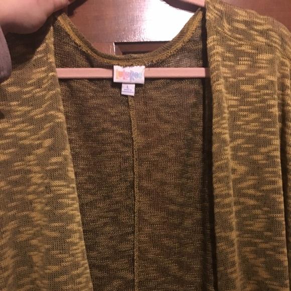 LuLaRoe Sweaters - Lularoe Linday Black and yellow sweater